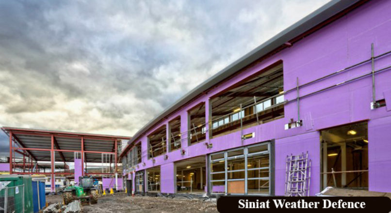 What is the Siniat Weather Defence Board?