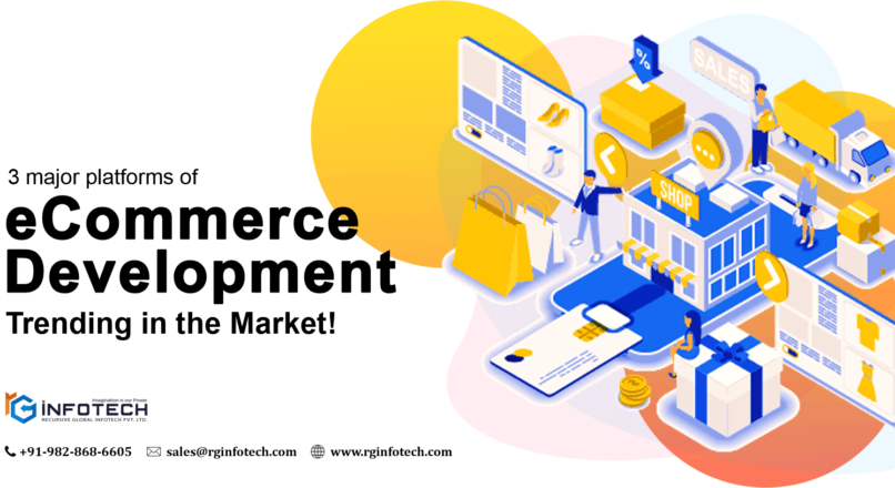 3 eCommerce Development Platforms – Trending in the Market!